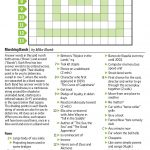 Marching Bands (Saturday Puzzle, Jan. 7)   Wsj Puzzles   Wsj   Wall Street Journal Printable Crossword Puzzles