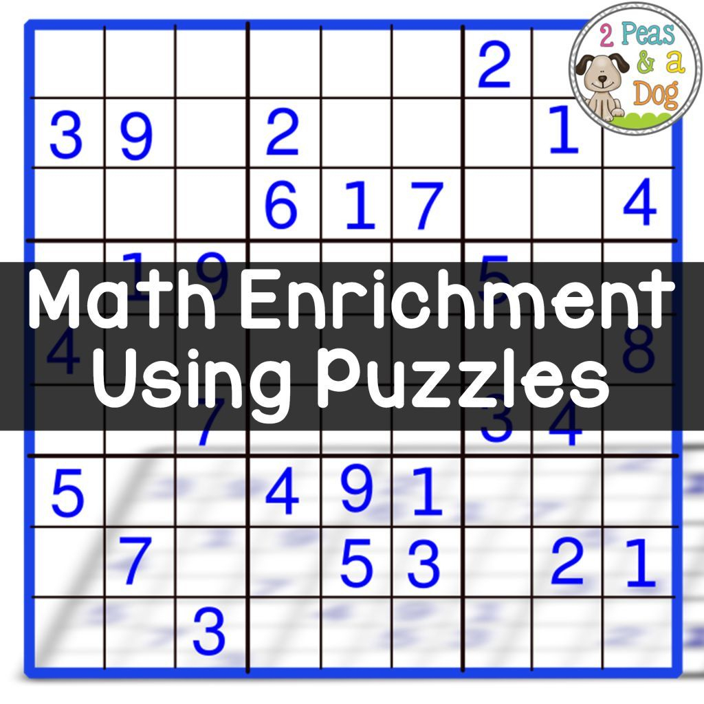 Math Enrichment Freebies - Kenken Puzzles | Teaching | Math - Printable Kenken Puzzles