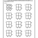 Math Puzzles Printable For Learning | Activity Shelter   Printable Multiplication Puzzles