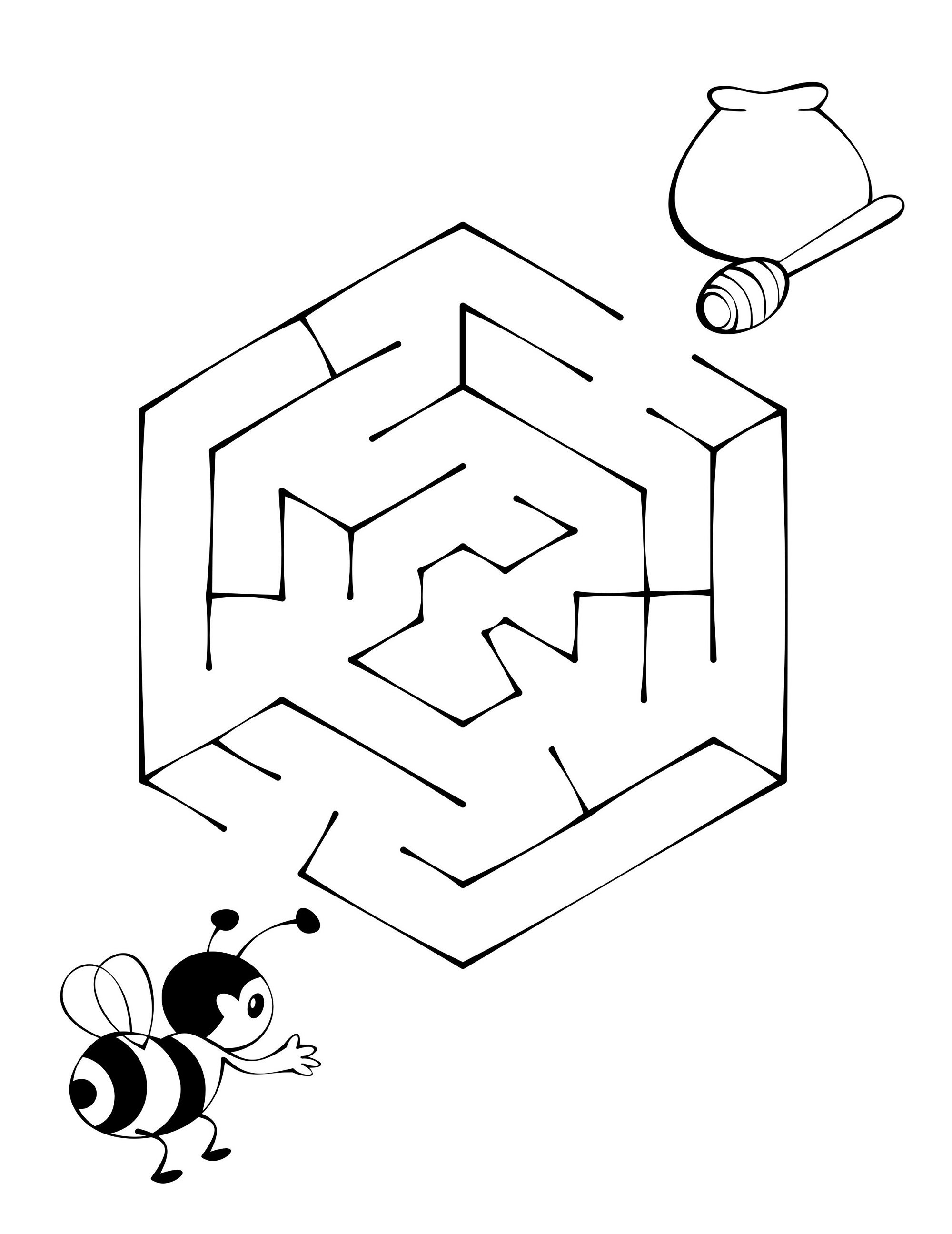Maze Puzzle For Kids To Print | Kiddo Shelter - Printable Puzzles For Kids