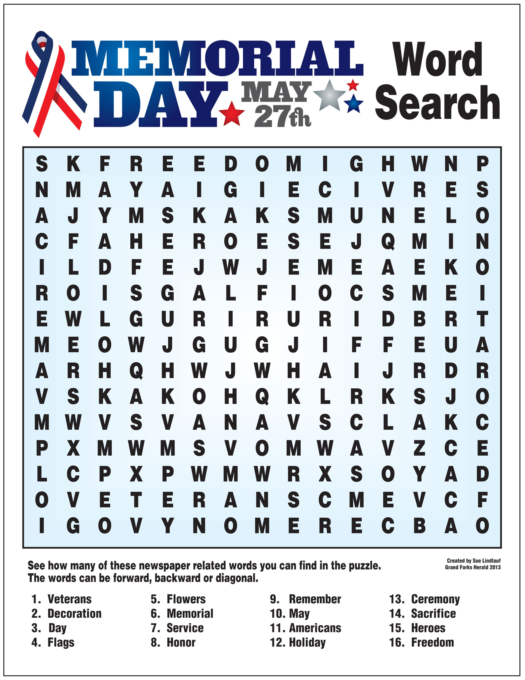 Memorial Day - Lessons - Tes Teach - Memorial Day Crossword Puzzle Printable