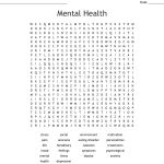 Mental Health Word Search   Wordmint   Printable Mental Health Crossword Puzzle