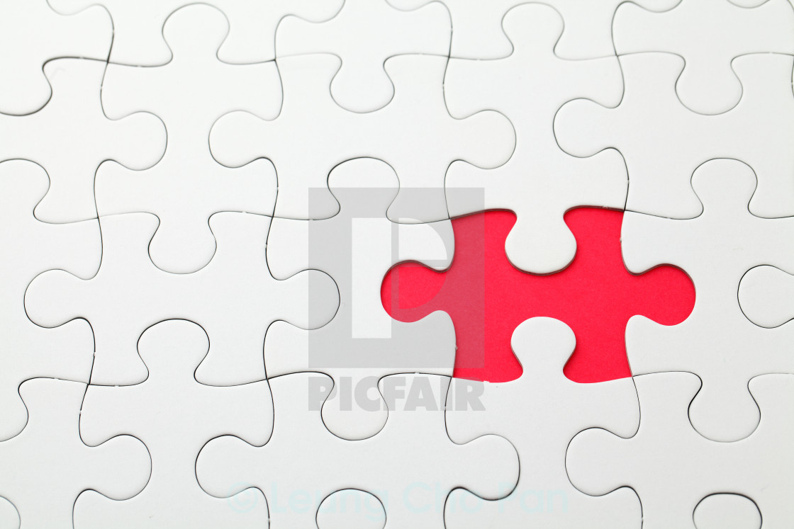 Missing Puzzle Piece - License, Download Or Print For £12.40 - Print Missing Puzzle Piece