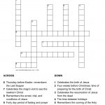 Monterotondo Page 3 : Easter Crossword Puzzle For Adults. Fun   Printable Crossword Puzzles For Tweens
