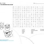 Mouth Monster Themed Crossword Puzzle & Word Search | The Big   Printable Dental Puzzles