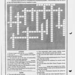 Music Worksheets   Printable Crossword Puzzles Music