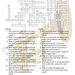 Musical Instruments Crossword Puzzle Worksheet Esl Fun Games Have Fun!   Vocabulary Crossword Puzzle Printable