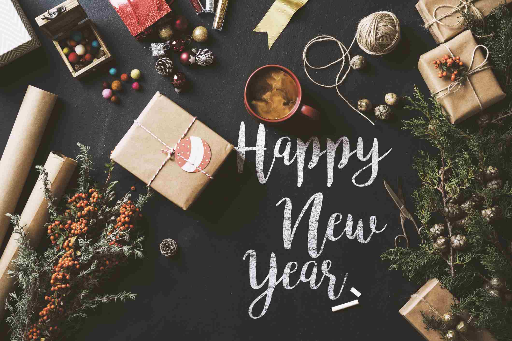 New Year Wordsearch, Crossword Puzzle, And More - Printable New Year's Crossword Puzzle
