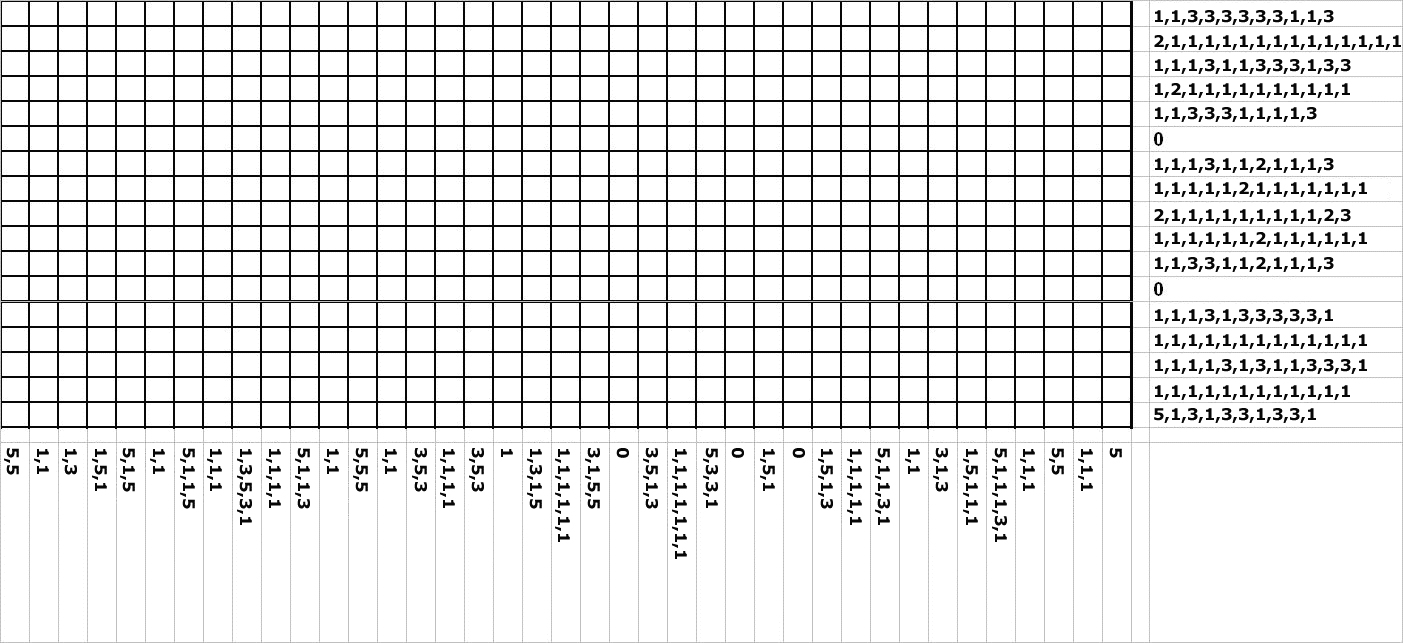 Nonogram Puzzles Printable - Printable 360 Degree - Printable Picross Puzzles