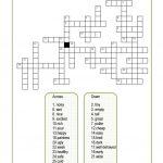 Opposite Adjectives Crossword Worksheet   Free Esl Printable   Printable Opposite Crossword Puzzle