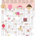 Opposites Crossword Worksheet   Free Esl Printable Worksheets Made   Printable Opposite Crossword Puzzle