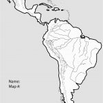 Outline Map Of South America Printable With Blank North And For New   Printable Puzzle South America