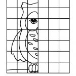 Owl Complete The Picture Drawing : Printables For Kids – Free Word   Printable Pencil Puzzles