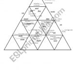 Past Simple Irregular Verbs Puzzle Tarsia   Esl Worksheetshivvers   Printable Tarsia Puzzle