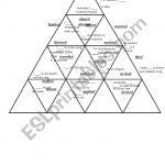 Past Simple Regular Verbs Puzzle Tarsia   Esl Worksheetshivvers   Printable Tarsia Puzzles