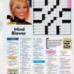 People Magazine Crossword Puzzles To Print | Puzzles In 2019   Printable Celebrity Crossword Puzzles