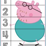 Peppa Pig Number Puzzles #'s 1 5 | Autism Activities For Ages 3 5   Printable Puzzles For Toddlers