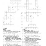 Periodic Table Crossword Puzzle | Teaching Resources | Crossword   Crossword Puzzle Chemistry Printable