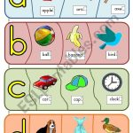 Phonics Puzzles   A To H   Esl Worksheetjoeyb1   Printable Phonics Puzzles