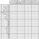 Pin Van Lieke Latis Op Puzzels   Logic Puzzles, Puzzle En Crossword   Printable Hanjie Puzzle