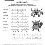 Pincrafty Annabelle On Pokemon Printables | Pokemon Coloring   Printable Pokemon Puzzles