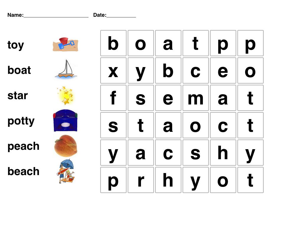 Pinmari On Phonetics | Word Puzzles For Kids, Kindergarten Word - Printable Puzzles For Kindergarten