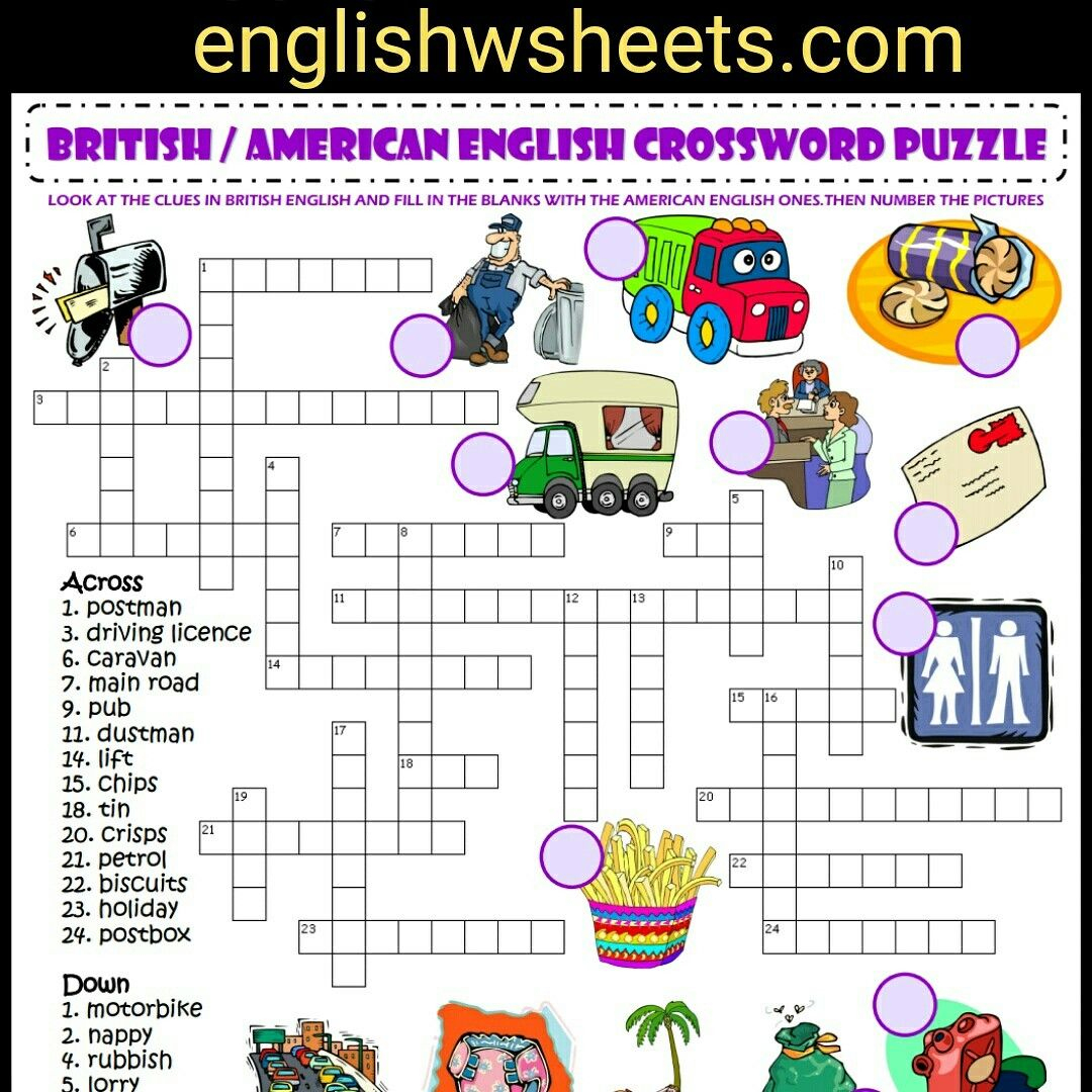 Pinterest - Printable Lexicon Puzzles