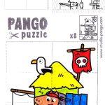 Pirate Island Jigsaw Puzzle #8 #pieces #jigsaw   Pango Printable   8 Piece Puzzle Printable