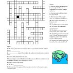 Planets Crossword Puzzle Worksheet   Pics About Space | Fun Science   Printable English Crossword Puzzles With Answers Pdf