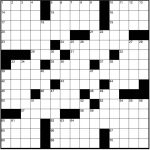 Play Free Crossword Puzzles From The Washington Post   The   Printable Crossword Puzzles May 2019