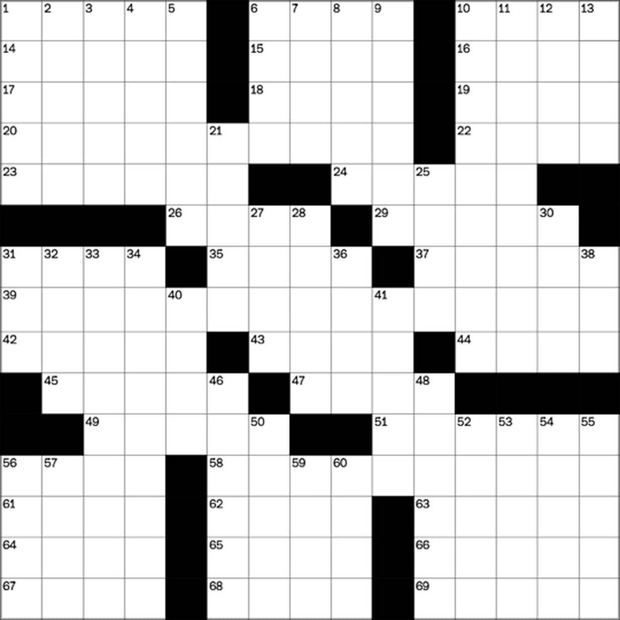Play Free Crossword Puzzles From The Washington Post - The - Printable Crosswords Music