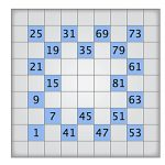 Play Today's Numbrix Puzzle   Printable Numbrix Puzzles