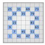Play Today's Numbrix Puzzle   Printable Numbrix Puzzles Parade