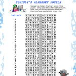 Print And Solve This Fun Winter Alphabet Puzzle. Use Each Letter   Printable Puzzle Alphabet