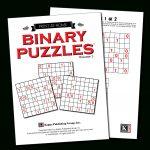 Print At Home – Kappa Puzzles   Printable Binary Puzzle