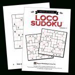 Print At Home Loco Sudoku – Kappa Puzzles   Printable Puzzle Packets
