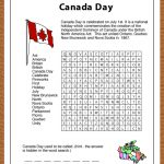Print This Free Learning Resource For Your Kids. This Canada Day   Print Puzzle Canada