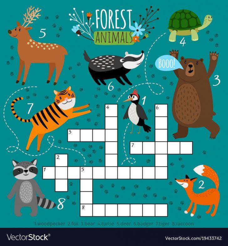 Printable Animal Puzzle