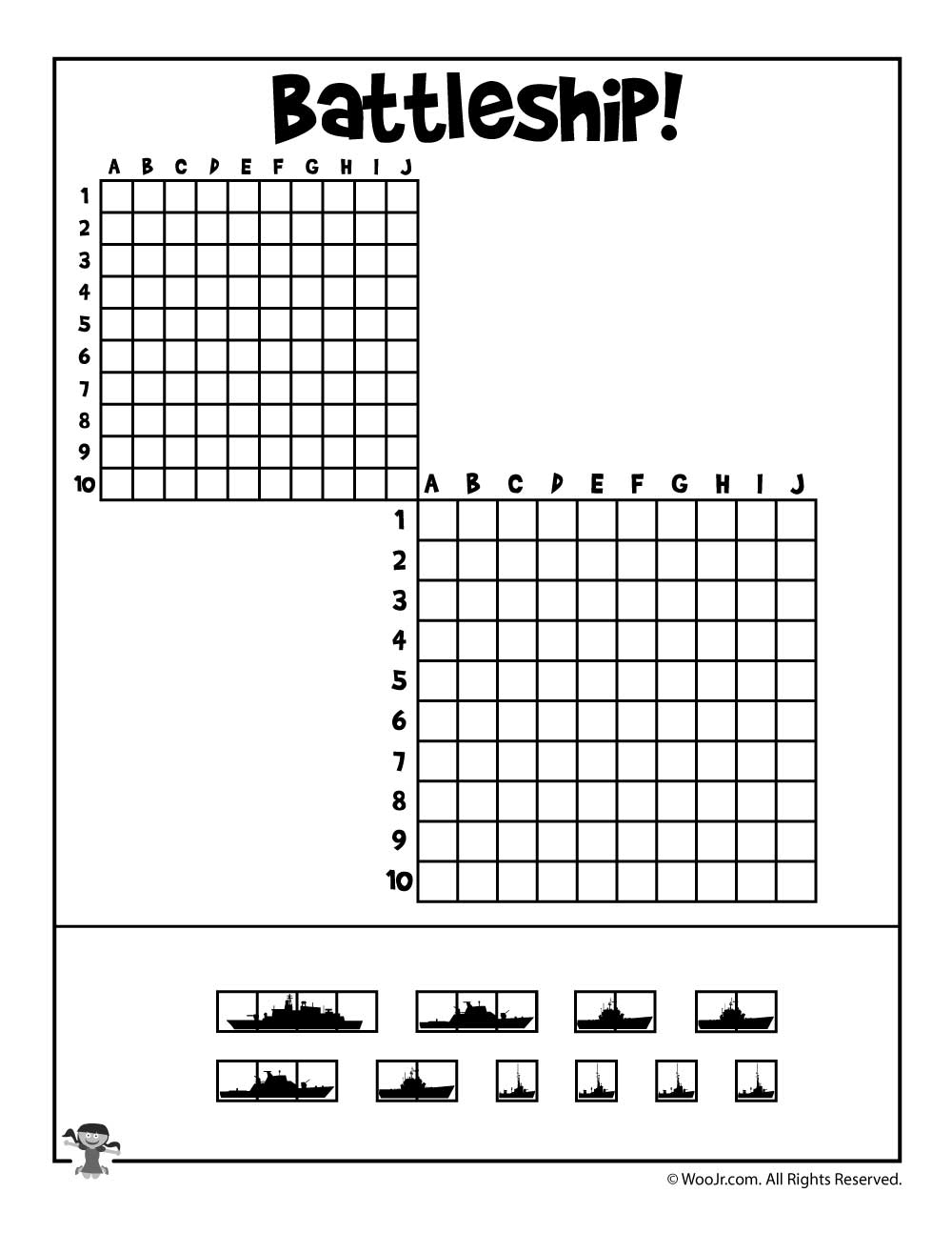 It is a photo of Invaluable Battleship Game Printable