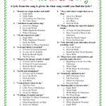 Printable Christmas Song Trivia | Christmas | Christmas Trivia Games   Printable Christmas Puzzles And Quizzes