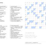 Printable Crosswords  Crosswords   Printable Crosswords.net
