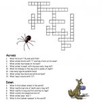 Printable Crosswords Puzzles Kids | Activity Shelter   Printable Children's Crossword Puzzles