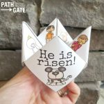 Printable Easter Finger Puzzle With Bible Verses   Perfect For Home   Printable Finger Puzzle