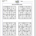 Printable Evil Sudoku Puzzles | Math Worksheets | Sudoku Puzzles   Printable Puzzles By Krazydad