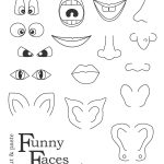 Printable Funny Face Images |  , Wait For It To Load, Right Click   Printable Face Puzzle