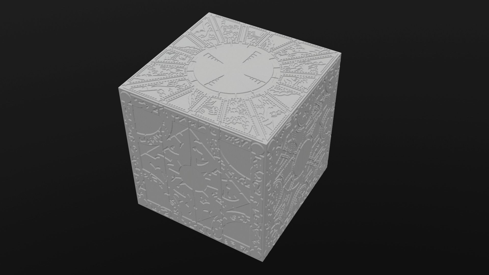 Printable Hellraiser Puzzle Box Lament - Printable Hellraiser Puzzle Box