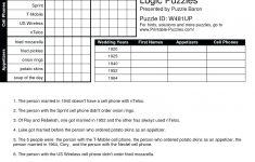 Printable Logic Puzzle Dingbat Rebus Puzzles Dingbats S Rebus Puzzle – Printable Logic Puzzles With Answer Key