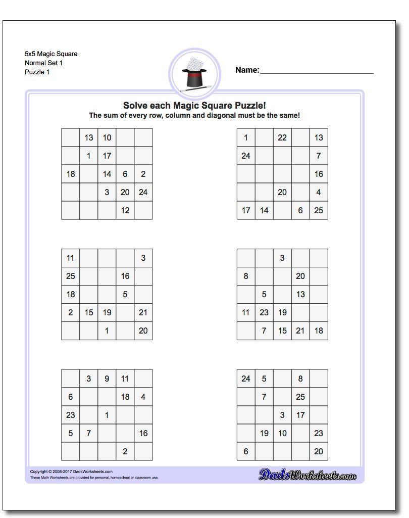 Printable Logic Puzzles The Printable Logic Puzzles On This Page Are - Printable Logic Puzzles Easy