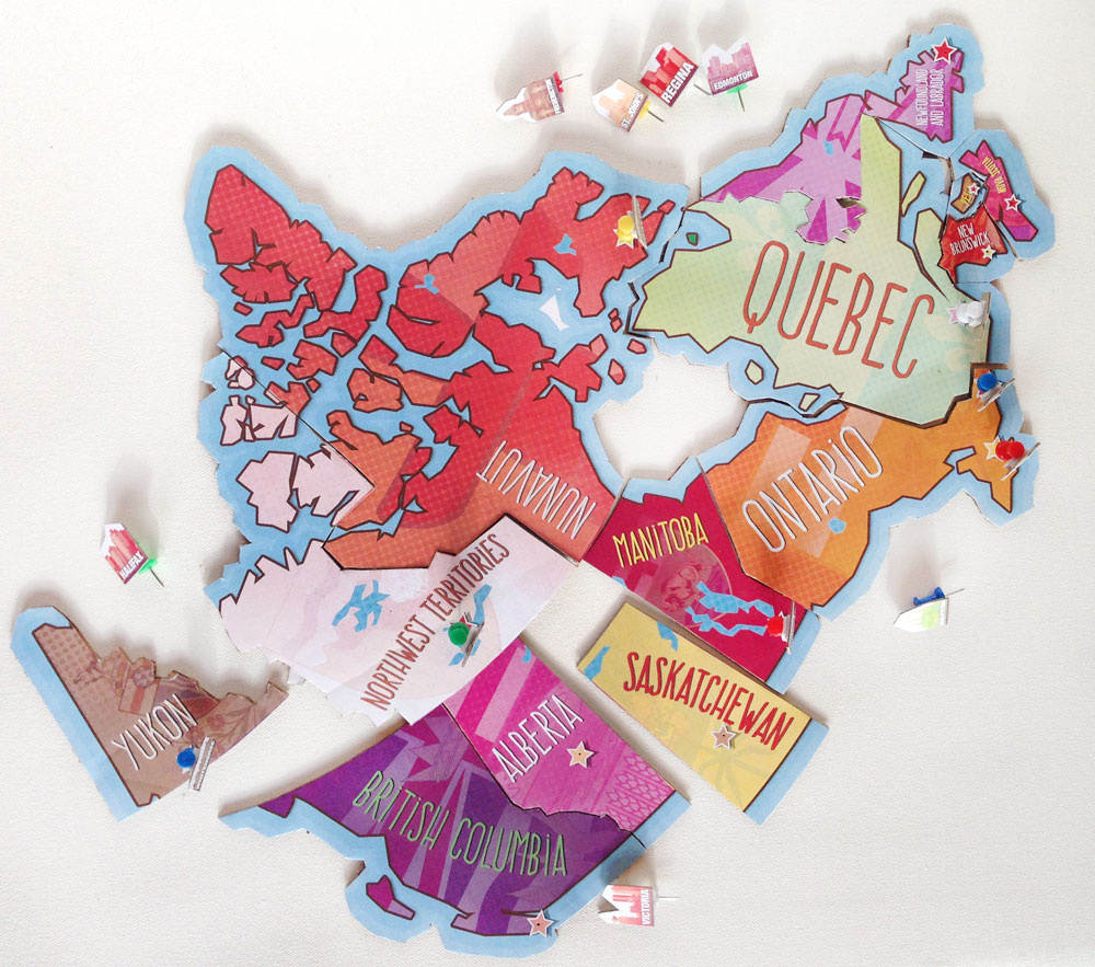Printable Map Of Canada Puzzle   Play   Cbc Parents - Printable Puzzle Of Canada
