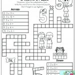 Printable Math Puzzles 5Th Grade Maths Ksheets Middle School Pdf Fun   Printable Math Puzzles Pdf
